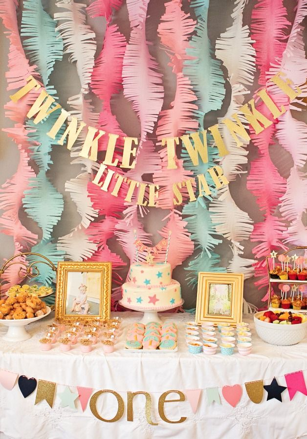 first birthday party ; 541933399b2a8b1f3add2fbcf75e8f49--baby-shower-backdrop-ideas-girl-girl-baby-shower-themes