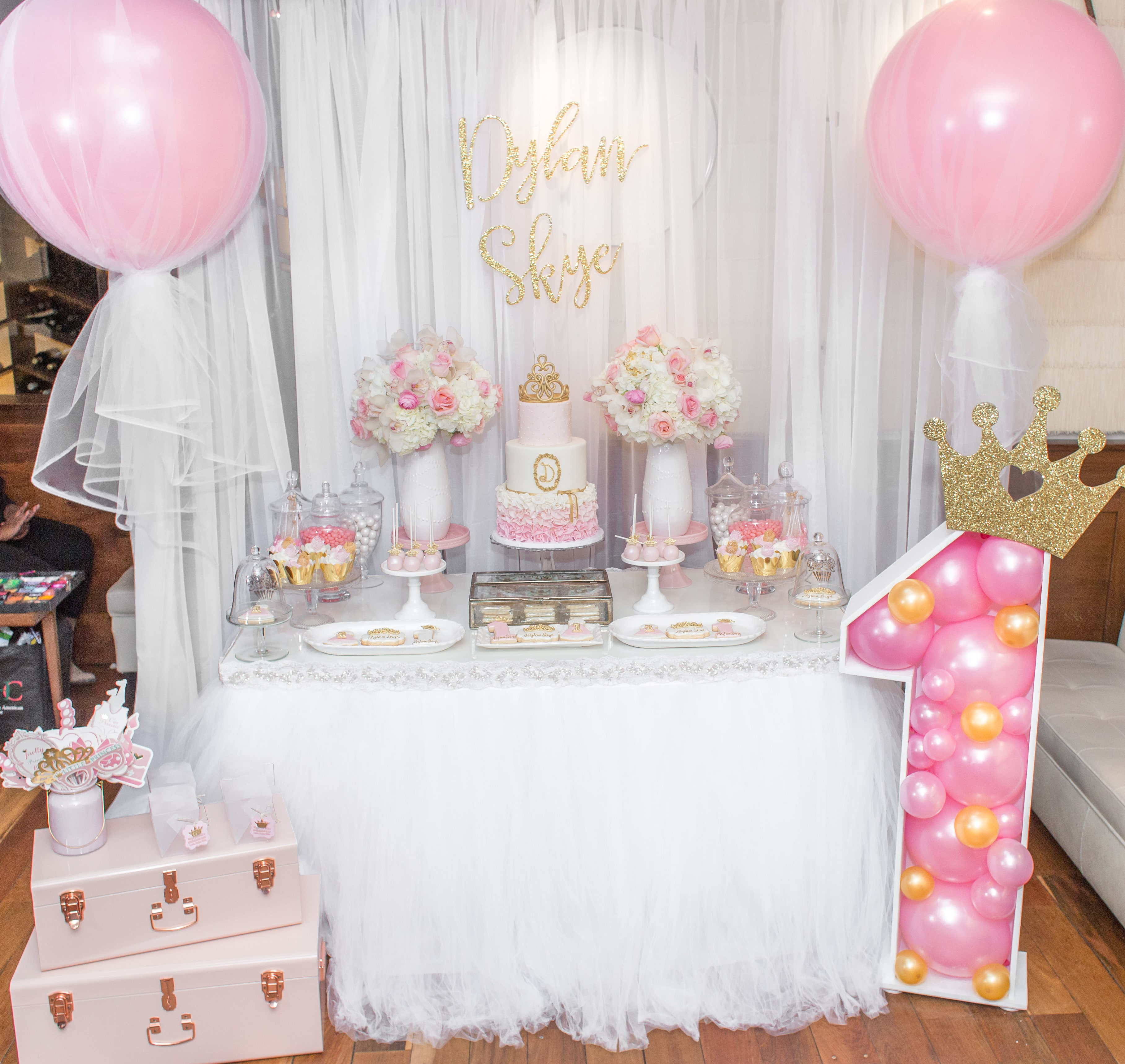 first birthday party ; DECOR_DYLANS-1ST-BIRTHDAY-78