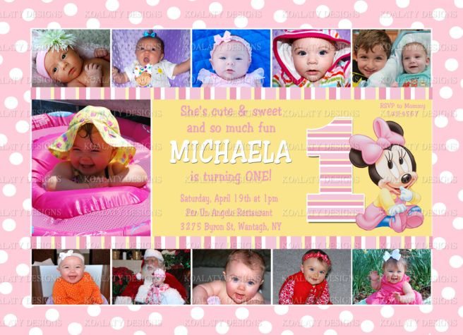 first birthday picture collage ; 9559374946_817f1afddb_b