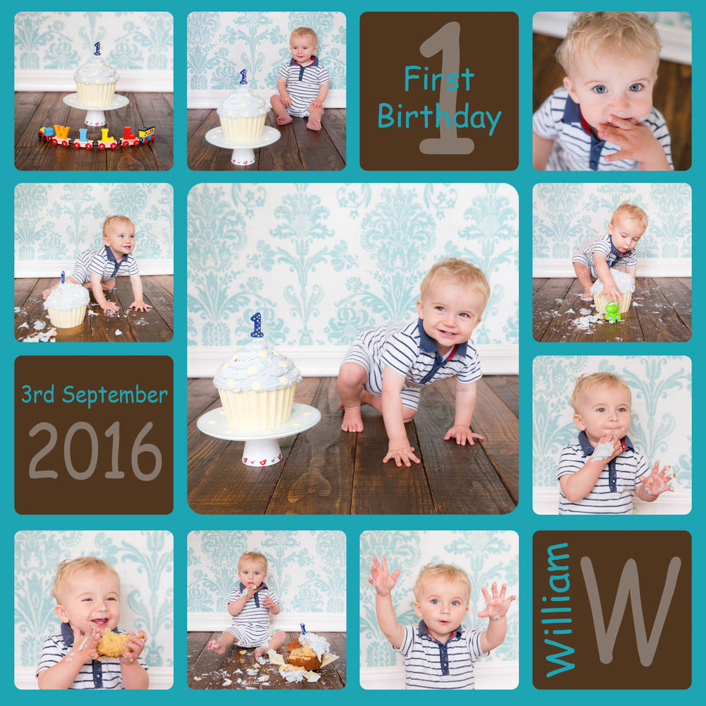 first birthday picture collage ; cake-smash-first-birthday-baby-photography-boy+%25282+of+2%2529