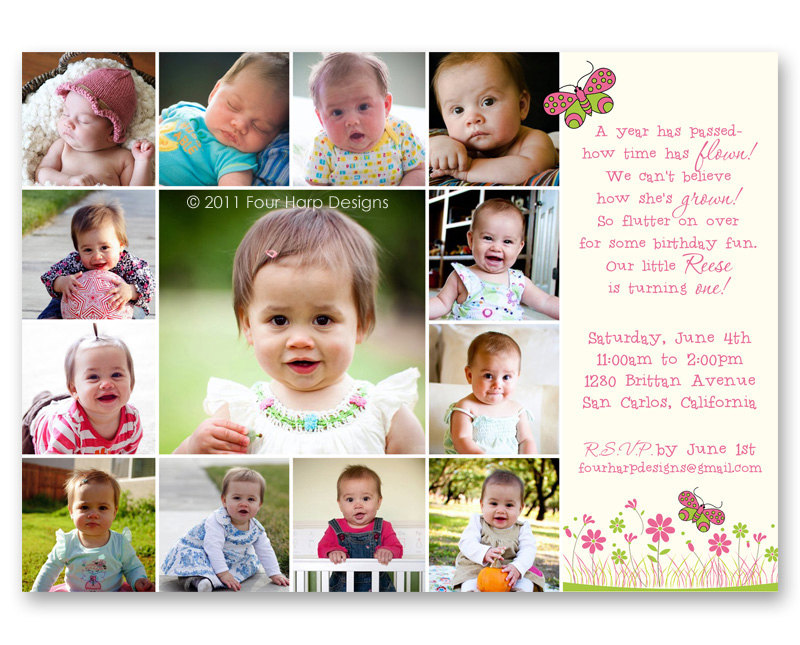 first birthday picture collage ; collage-birthday-invitations-collage-birthday-invitations-mes-specialist
