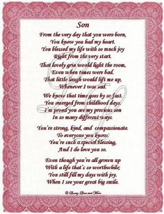 first birthday poem to my son ; 38438fea70cbfd76c1083376481d6ce7