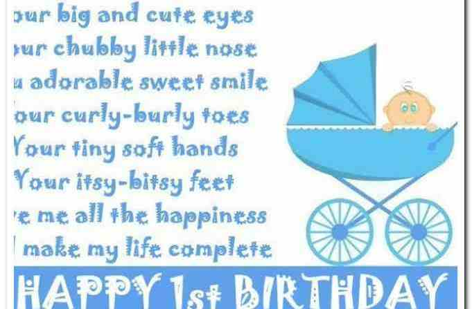 first birthday poem to my son ; happy-first-birthday-son-quotes