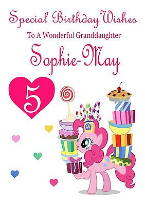 fluttershy birthday card ; My-Little-Pony-Personalised-Birthday-Card-Daughter-Sister