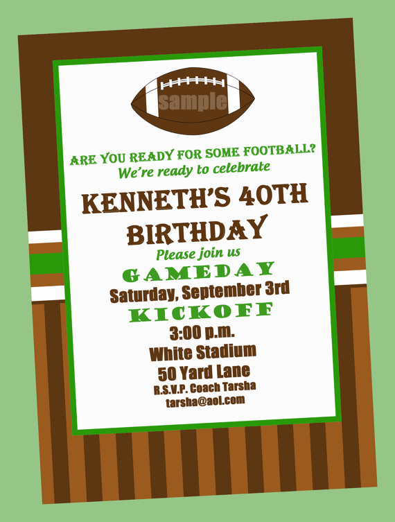 football birthday party invitation templates ; football-birthday-party-invitations-and-the-invitations-of-the-Party-Invitation-Templates-to-the-party-sketch-with-cool-idea-8