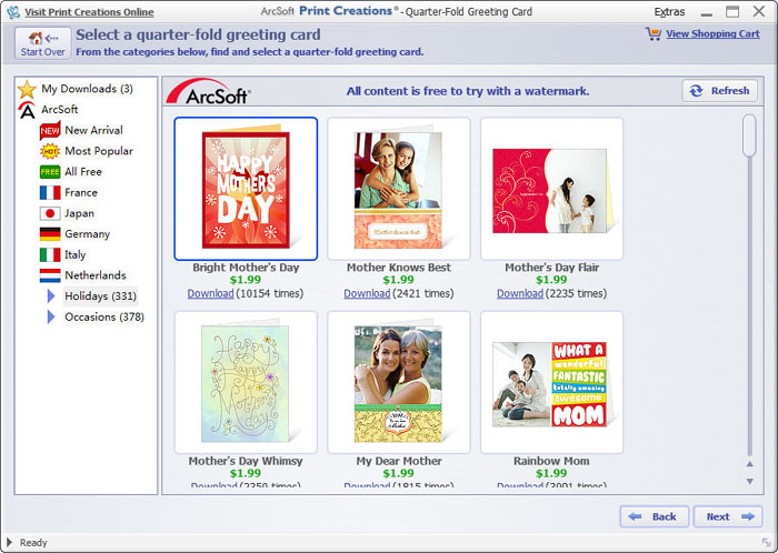 free birthday card design software ; greeting-card-software-template