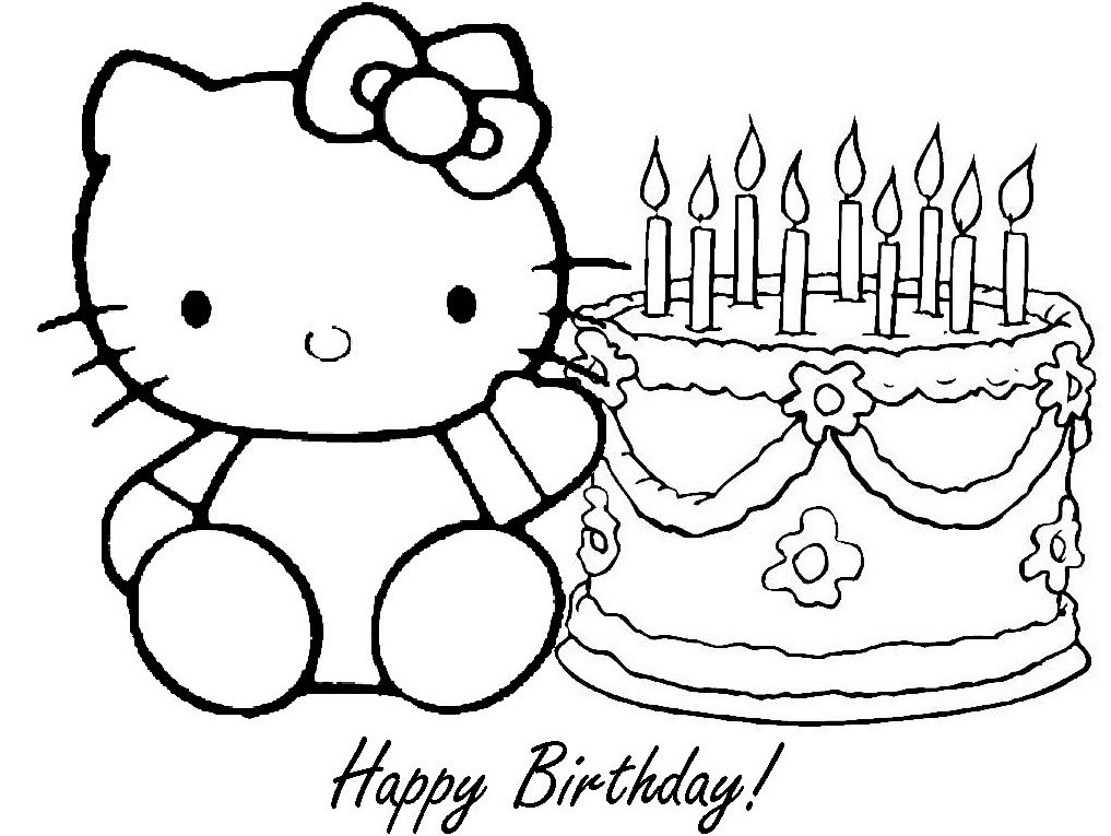 free birthday coloring pages to print ; maxresdefault
