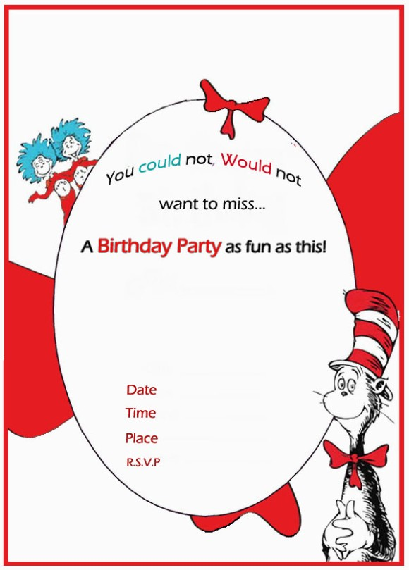 free birthday templates online ; Dr-Seuss-Birthday-Invitation-free-template