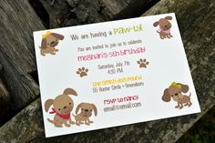 free dog birthday invitation templates ; a9ca4568d9f70ed78a7c641106956f5a--dog-themed-parties-puppy-birthday-parties