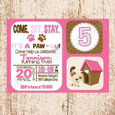 free dog birthday invitation templates ; dog-party-invitation-enriching-your-ideas-to-create-your-impressive-Party-invitations-9