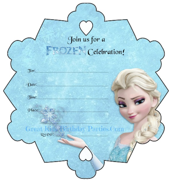 free frozen birthday invitation template ; free-frozen-birthday-invitations-by-way-of-using-an-impressive-design-concept-for-your-bewitching-Birthday-Invitation-Templates-9