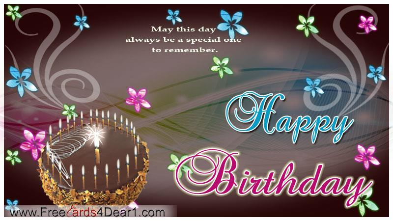 free happy birthday greeting cards ; happy-birthday-wishes-greeting-card-free-animated-cards-for-facebook-special-one-to-remember-ideas