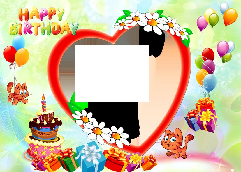 free happy birthday picture frames ; Happy_Birthday_photo_frame_png