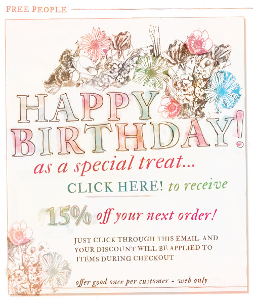free people birthday sign up ; BDay_Freepeople