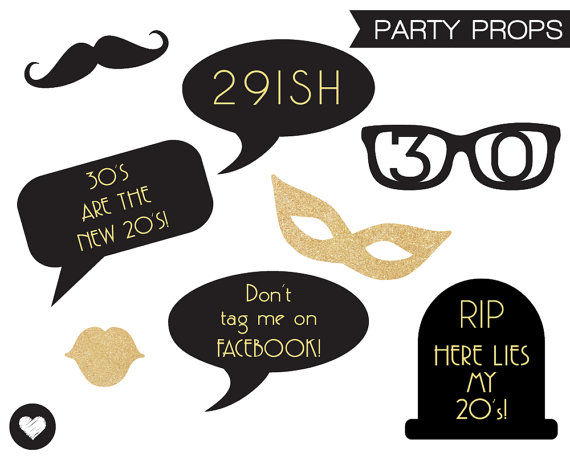 free printable 30th birthday photo booth props ; 30th-birthday-party-booth-props-printable_200372