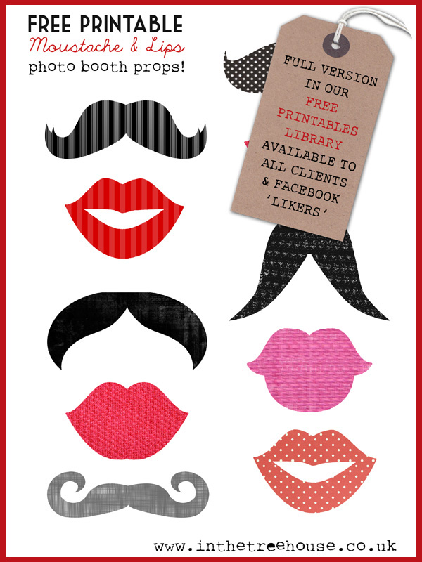free printable 30th birthday photo booth props ; Photobooth-Props1