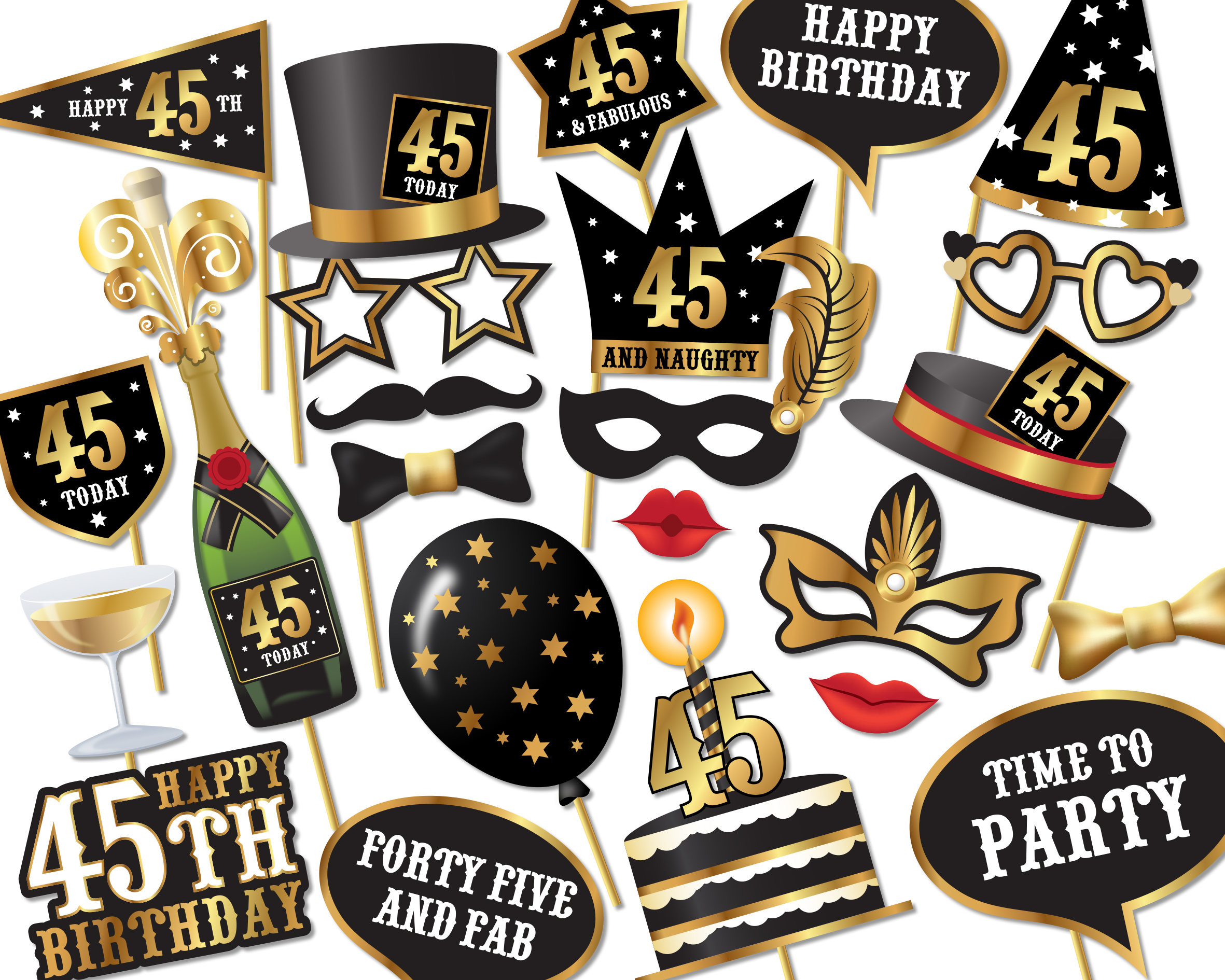 free printable 30th birthday photo booth props ; il_fullxfull-1