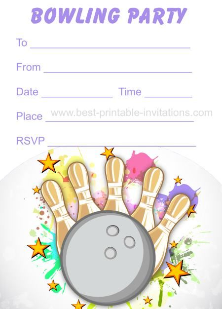 free printable bowling birthday party invitations for kids ; 7079d916cd5c110e4fd24e77d9391d54