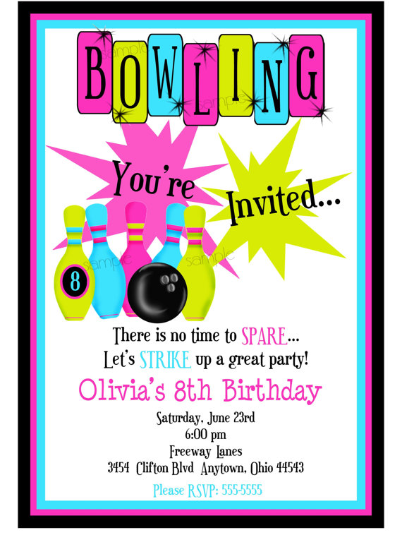 free printable bowling birthday party invitations for kids ; il_570xN