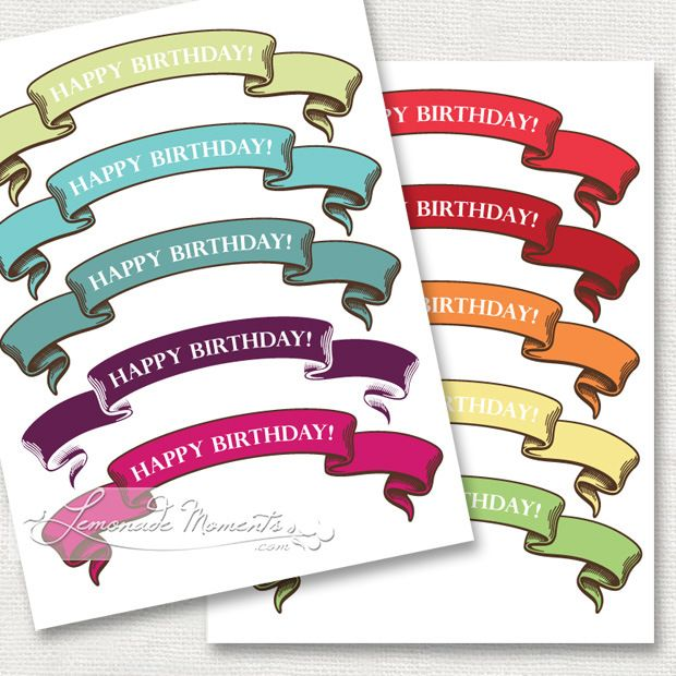 free printable happy birthday cake topper ; 58d179c00bfd61c560100356833a6623