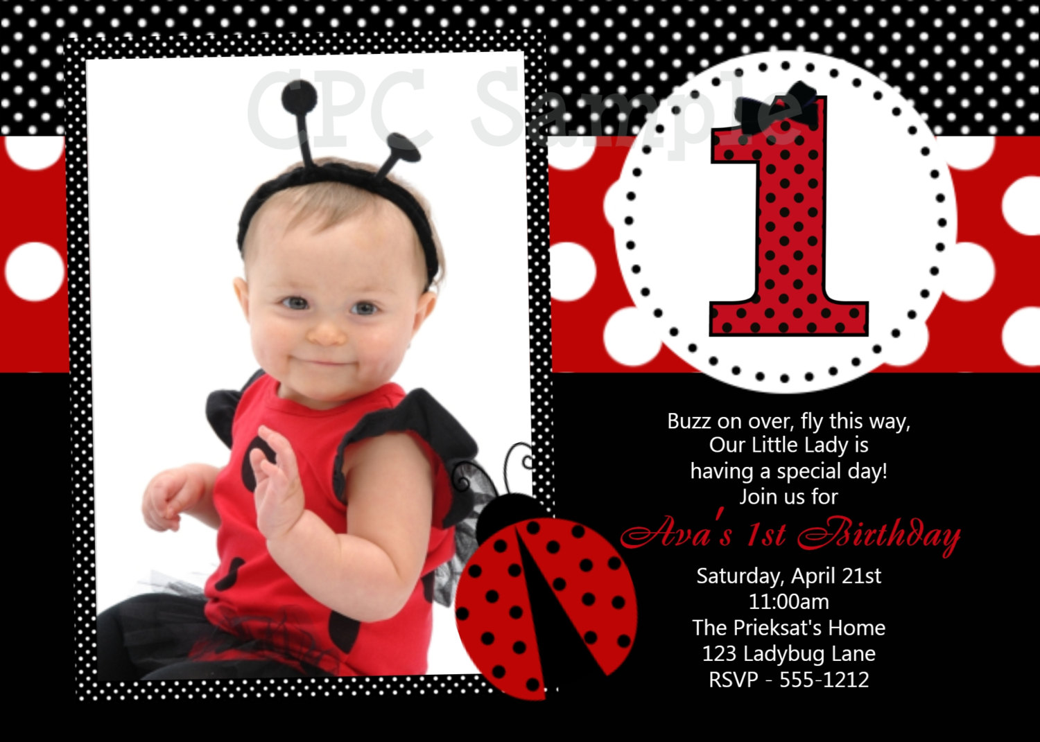 free printable ladybug birthday cards ; ladybug-birthday-invitations-including-exceptional-Birthday-Invitation-Templates-with-full-of-pleasure-environment-5