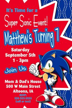 free printable sonic the hedgehog birthday invitations ; 4bdef50529ae95696f23c9b2f687035c--sonic-the-hedgehog-birthday-party-sonic-party