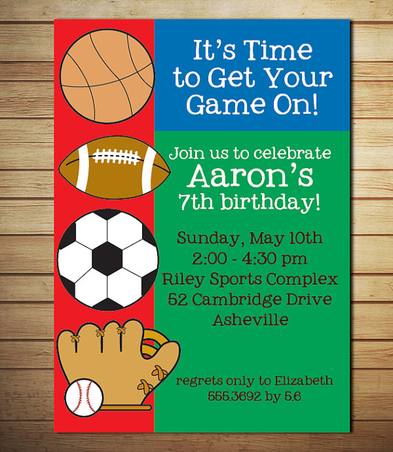 free printable sports birthday invitations ; Marvellous-Sports-Party-Invitations-Which-Can-Be-Used-As-Free-Printable-Birthday-Party-Invitations