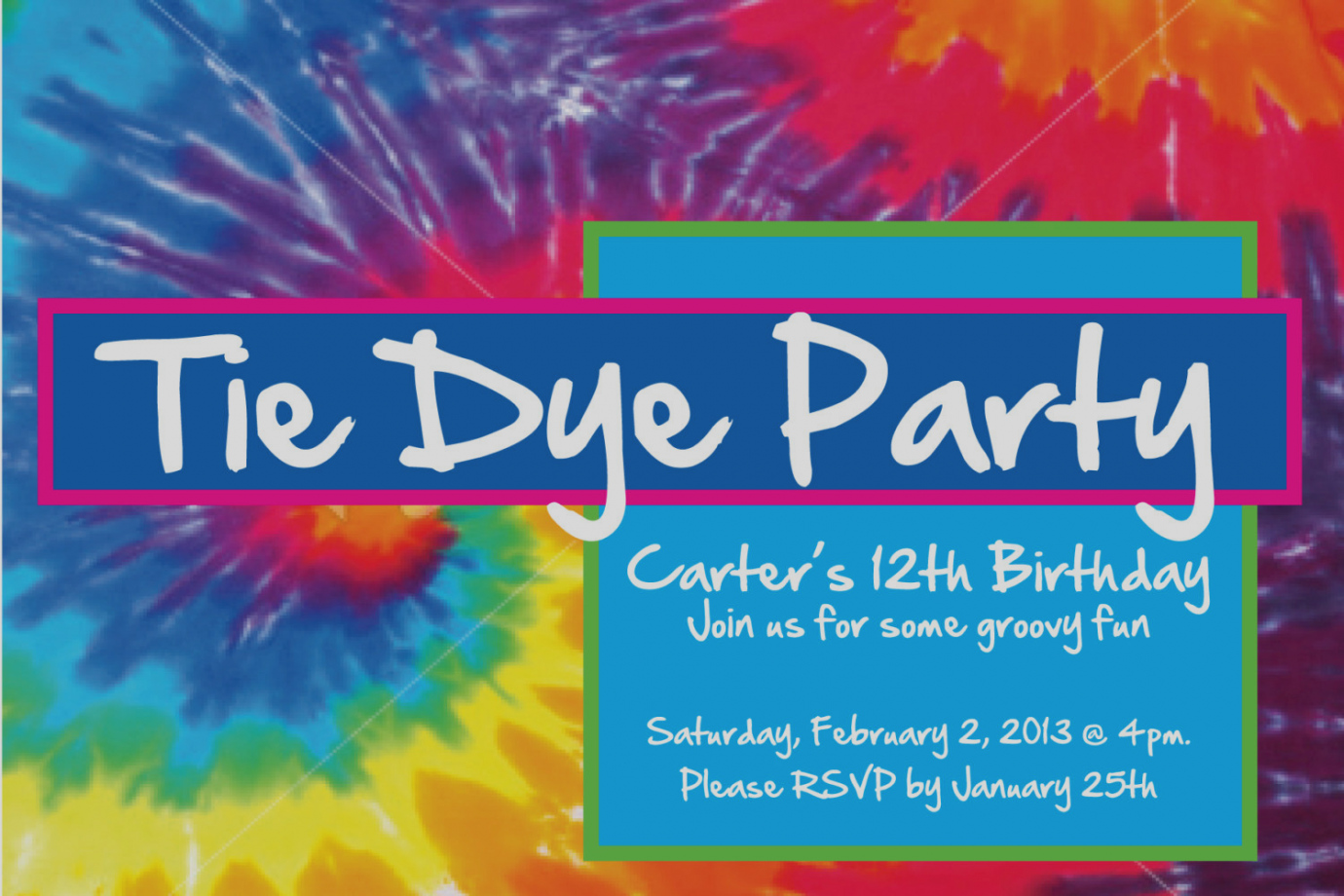 free printable tie dye birthday invitations ; amazing-of-tie-dye-party-invitations-zoro-blaszczak-co
