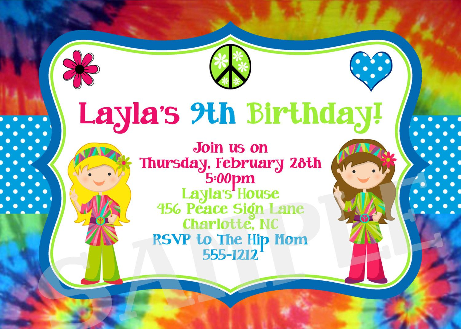 free printable tie dye birthday invitations ; e32e45b2fb699fd8d8475dc13d368b8b