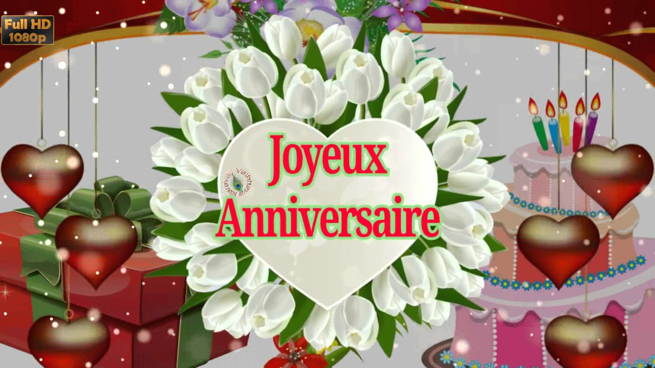french birthday greeting messages ; maxresdefault