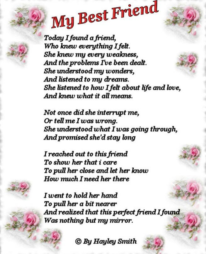 friendship poems for best friends birthday ; cfaaa1e3e8fa000d13d80bd433570835