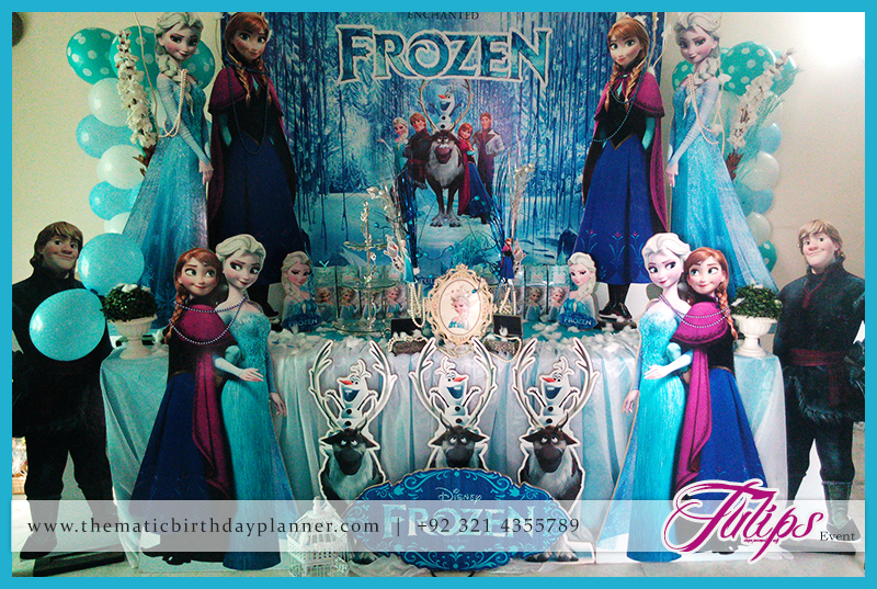 frozen birthday party banner ; Frozen-birthday-party-theme-ideas-in-lahore-Pakistan-09