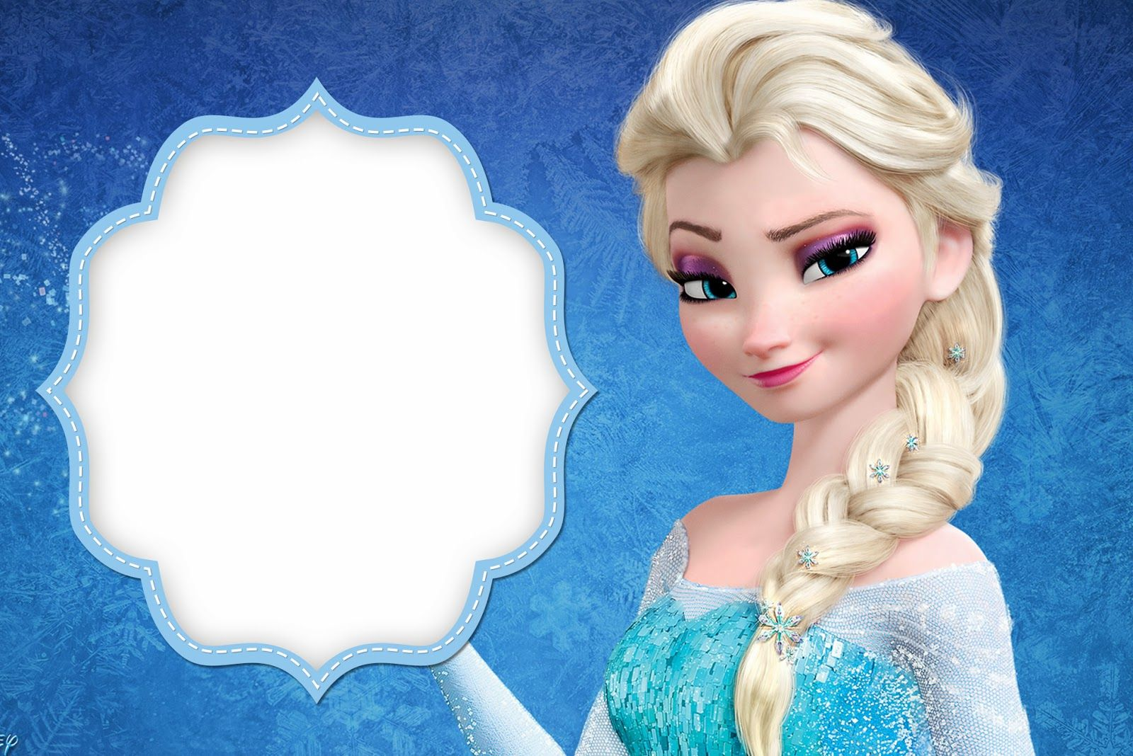 frozen birthday party invitations free printable ; 0991846049ff51ac6306689f66c25ab8