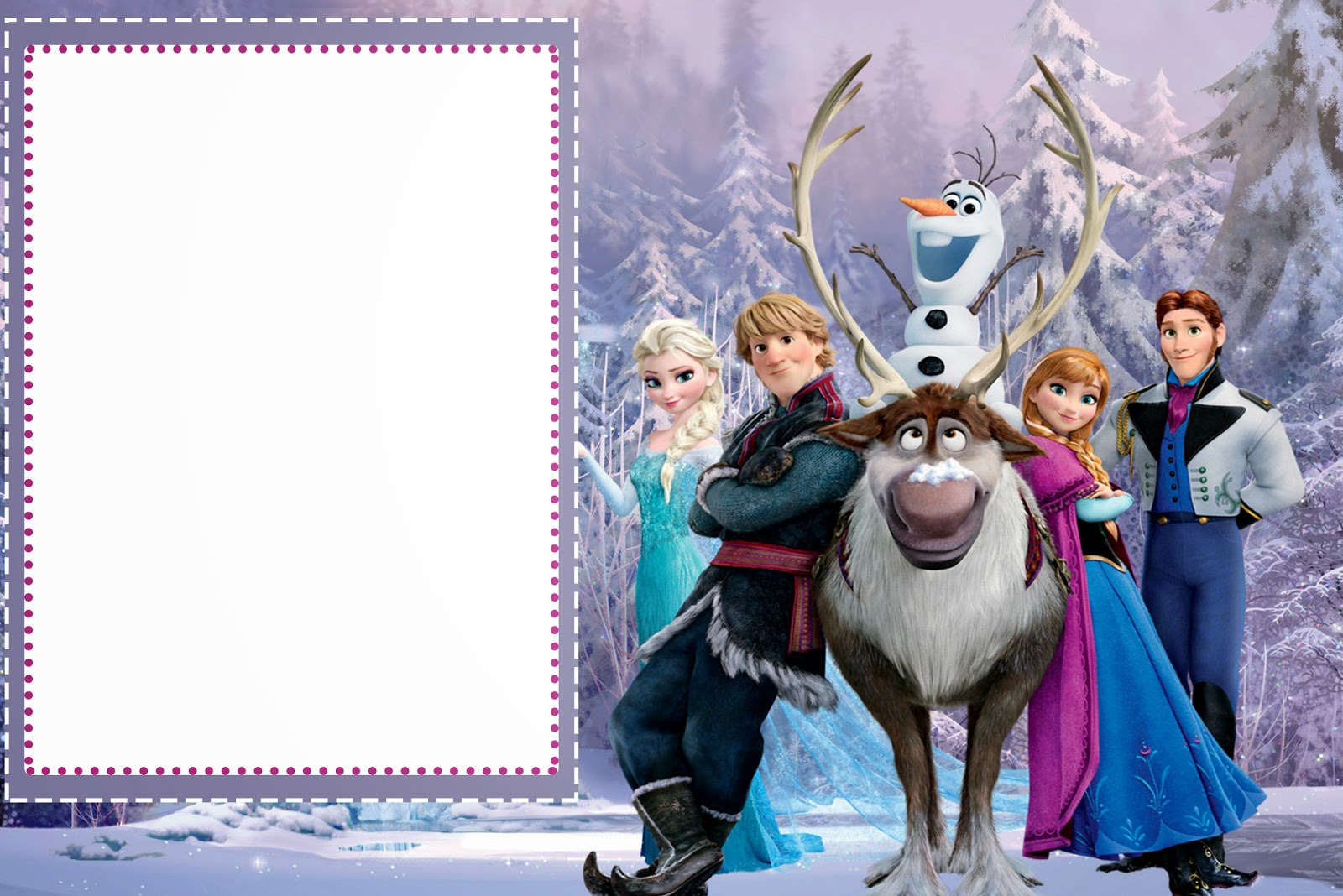 frozen birthday party invitations free printable ; Frozen-024
