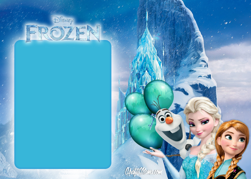 frozen birthday party invitations free printable ; FrozenGenericGirlsTemplate