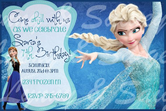 frozen birthday party invitations free printable ; Latest-Frozen-Birthday-Invitations-Which-You-Need-To-Make-Free-Printable-Birthday-Party-Invitations