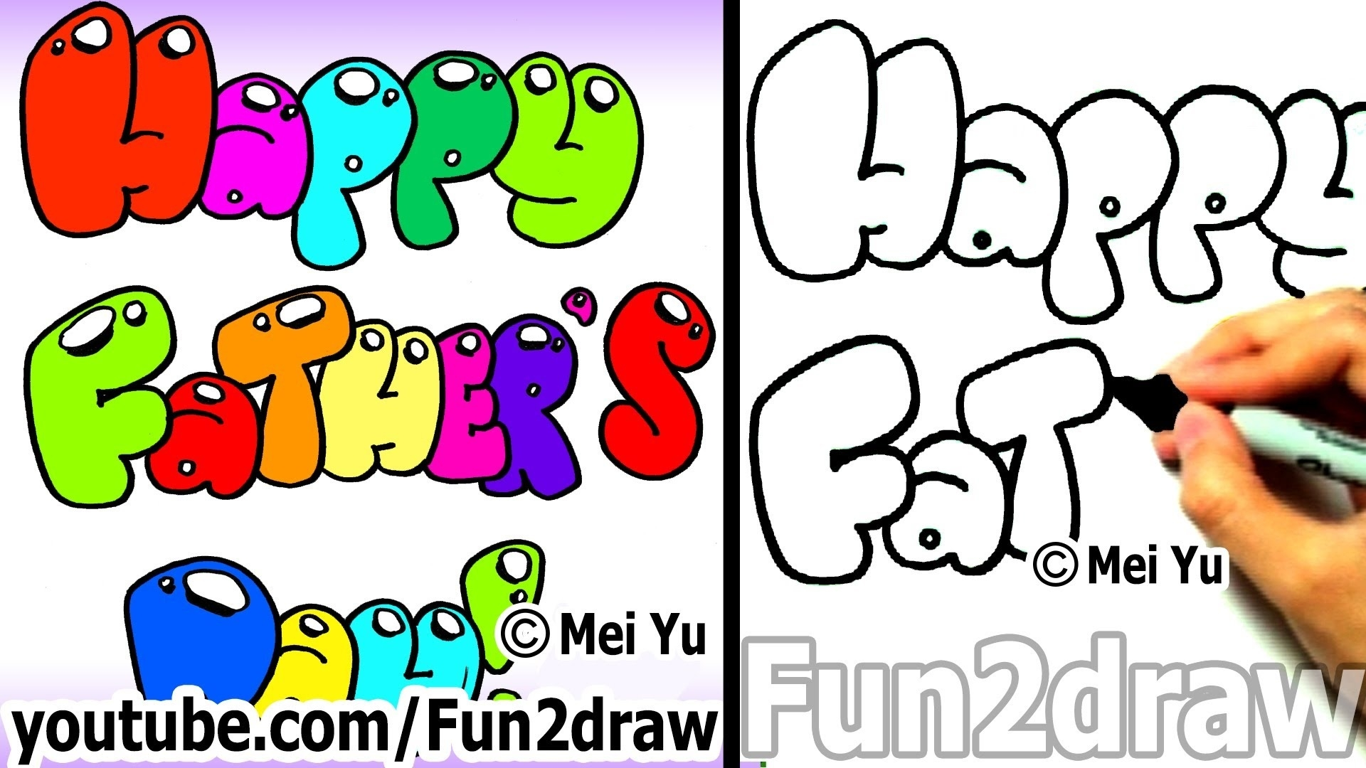 fun to draw birthday ; how-to-draw-bubble-letters-happy-fathers-day-fun-things-to-throughout-beautiful-of-bubble-letters-happy-birthday