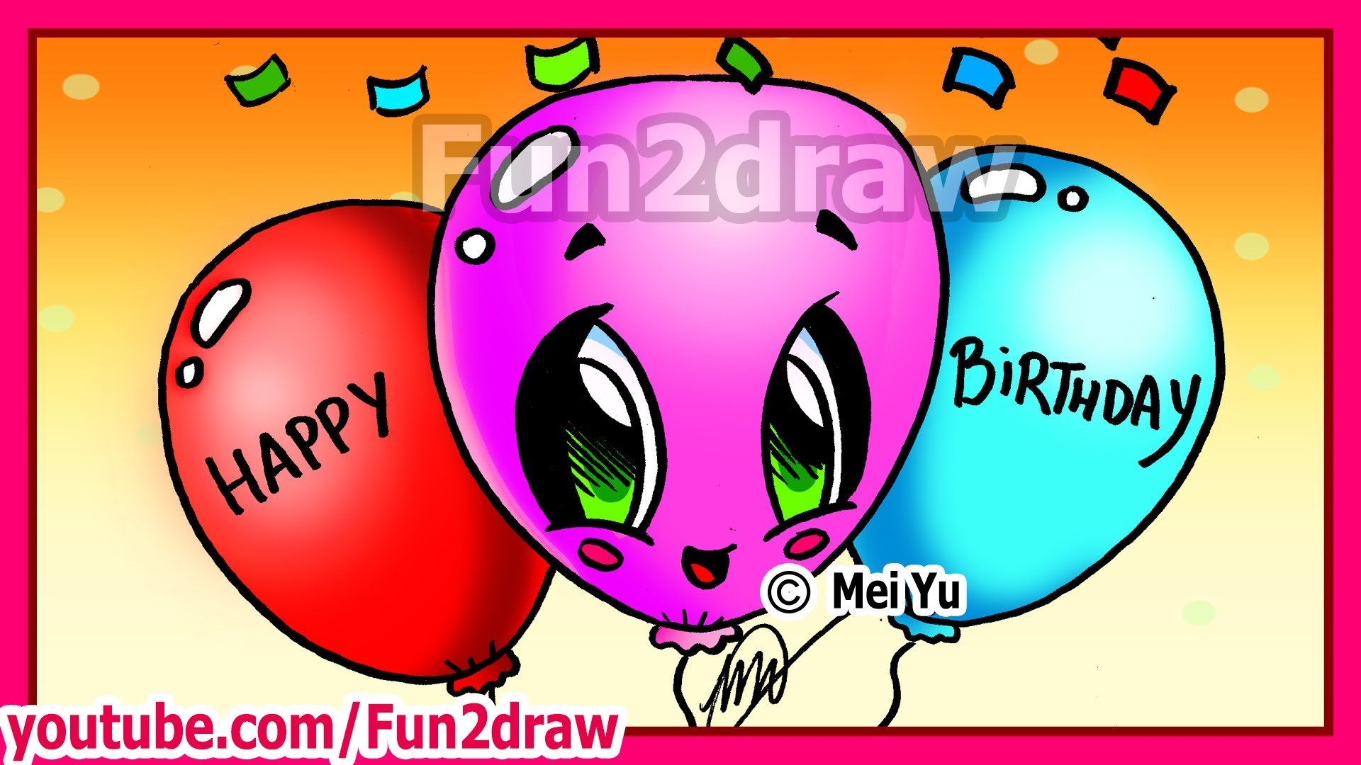 fun to draw birthday ; maxresdefault-1