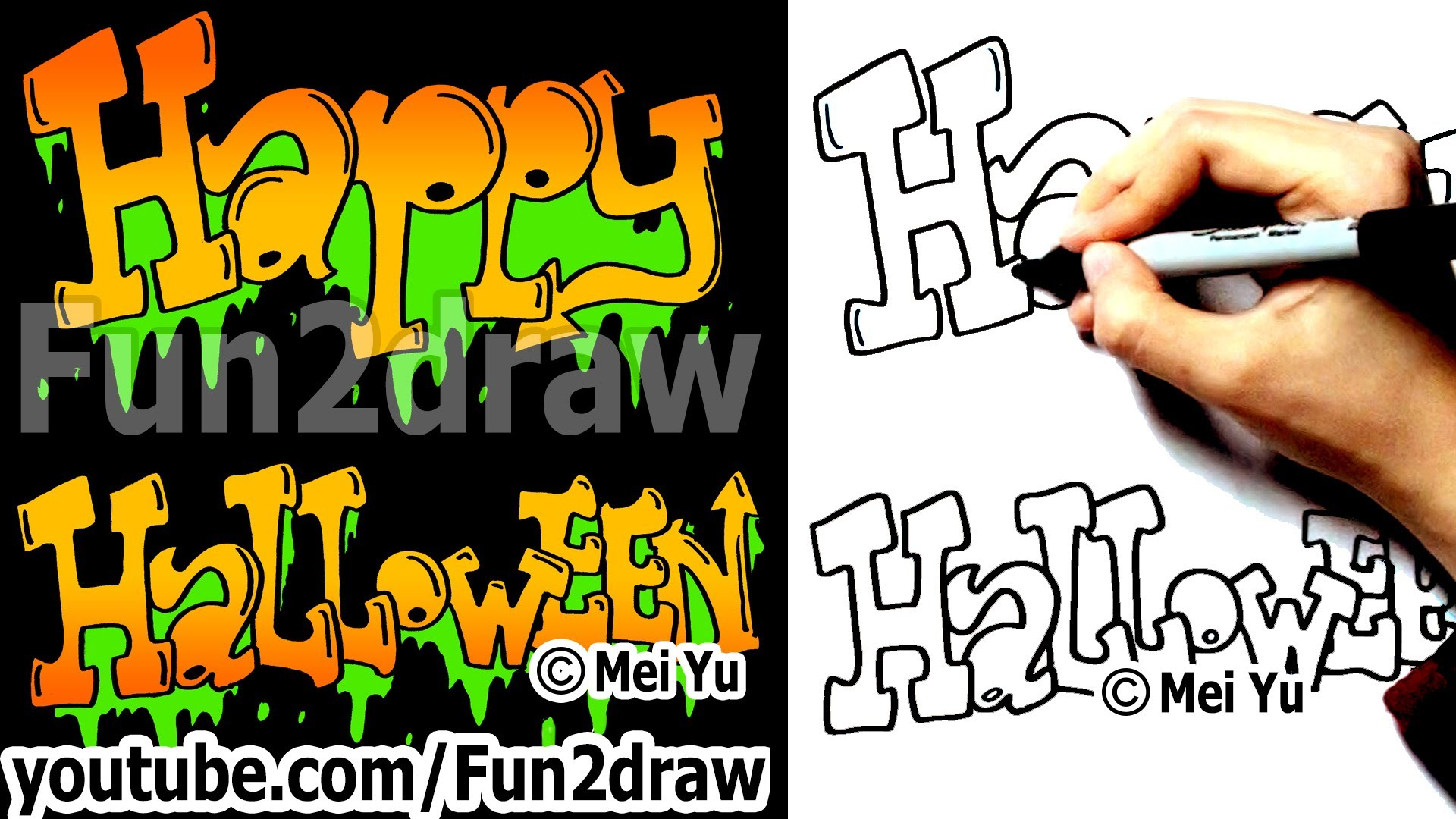 fun to draw birthday ; simple-graffiti-happy-birthday-letters-how-to-draw-graffiti-letters-happy-halloween-fun-things-to