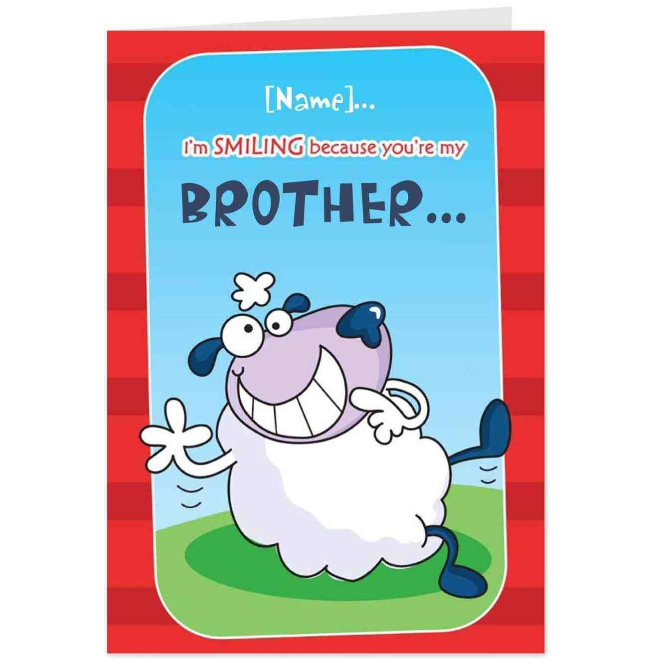 funny birthday card sayings for brother ; e75cd09b4b51cb04a8ccf9f08a20ae69