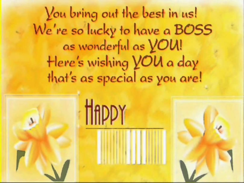 funny birthday message for boss from staff ; Birthday-quotes-for-boss-810x608
