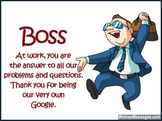 funny birthday message for boss from staff ; Funny-quote-for-boss-problems-solutions-google-640x480