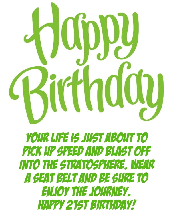funny sayings for 21st birthday card ; 1000-images-about-happy-birthday-on-pinterest-88581