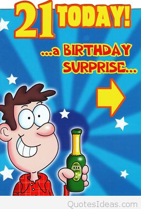funny sayings for 21st birthday card ; new-male-funny-21st-birthday-card