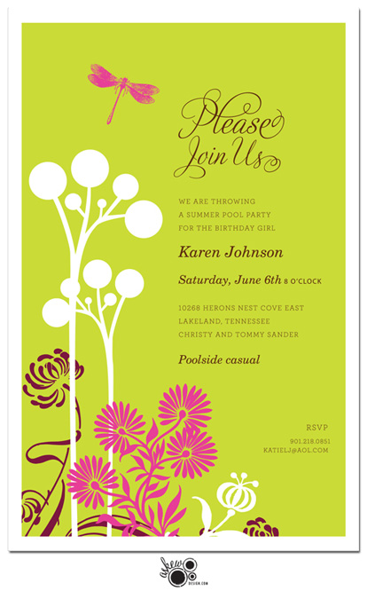 garden birthday party invitation wording ; 20482