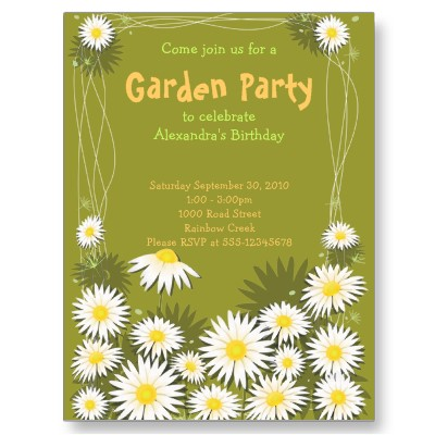 garden birthday party invitation wording ; brilliant-free-garden-party-invitation-following-grand-article