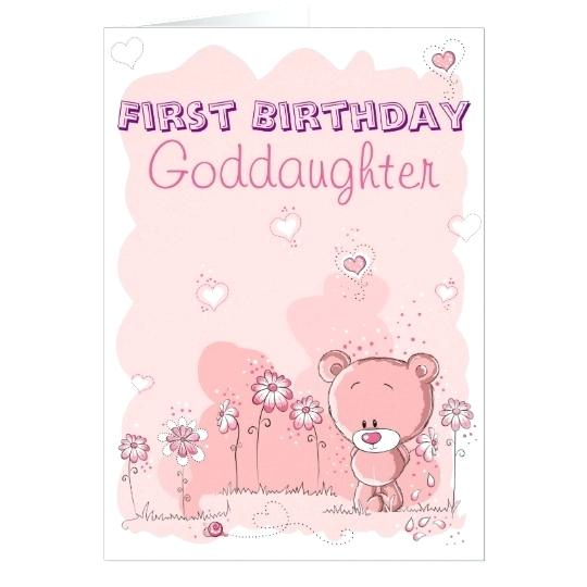 goddaughter first birthday card ; goddaughter-birthday-card-together-with-goddaughter-first-birthday-from-godparent-card-to-frame-amazing-goddaughter-birthday-card-messages-875