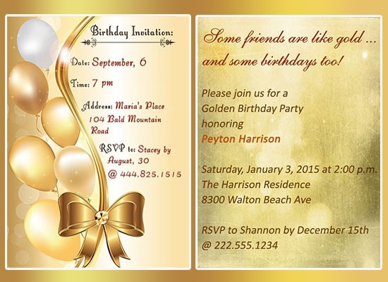 golden birthday invitation wording ; Elegant-Golden-Birthday-Invitations-Which-Can-Be-Used-As-Free-Printable-Birthday-Party-Invitations