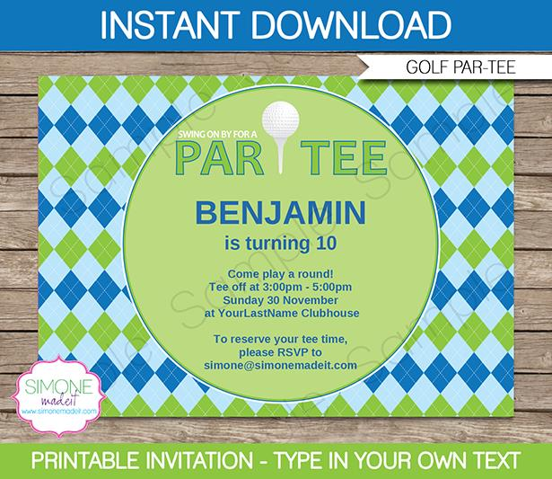 golf birthday invitations printable ; golf-party-invitations-is-the-best-theme-to-forge-your-exquisite-Party-invitations-15