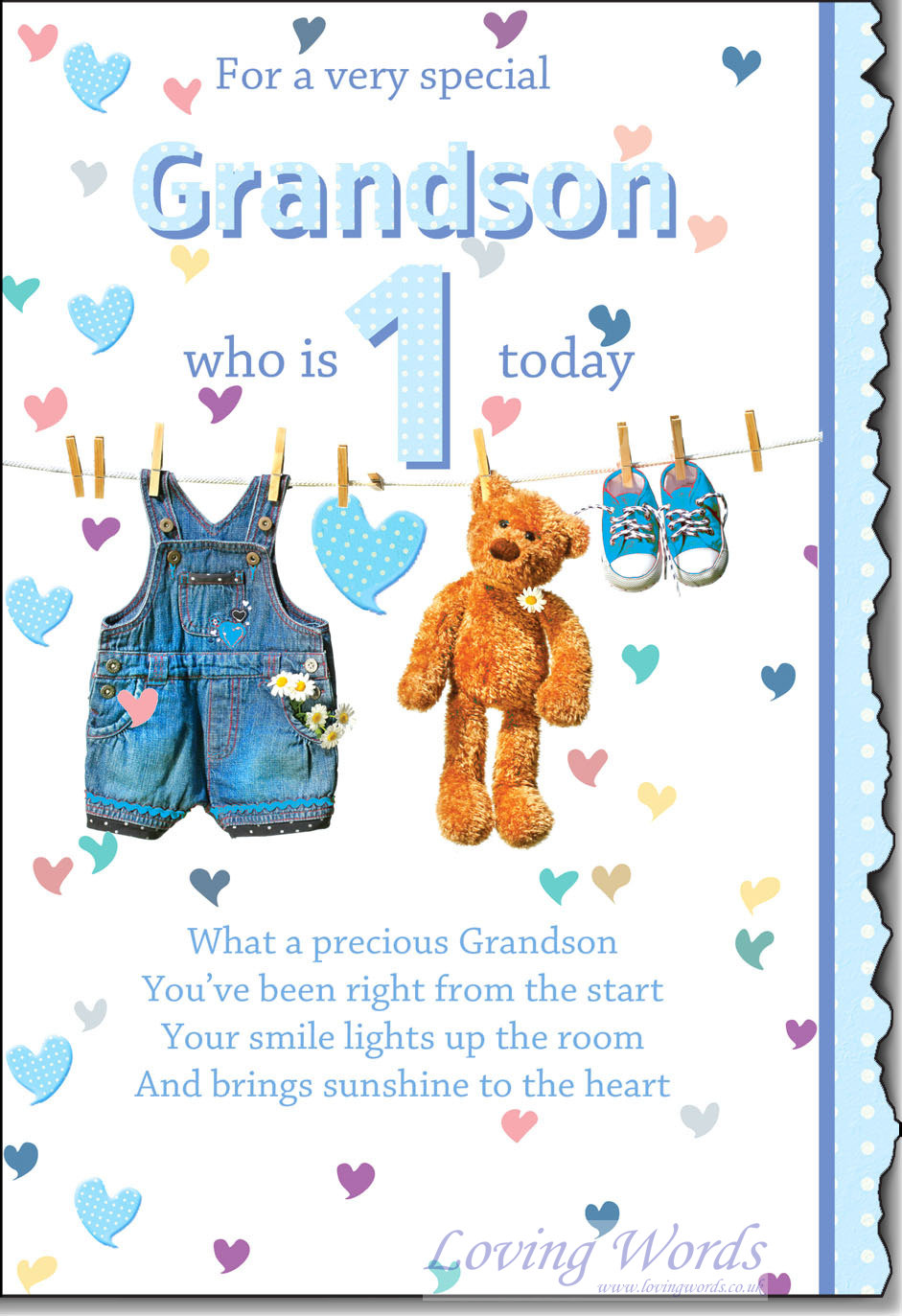 grandson 1st birthday message ; C90ED972